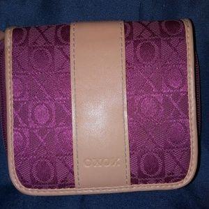 XoXo Pink Wallet